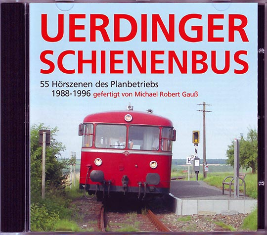 Audio-CD, Uerdinger Schienenbus, Michael Robert Gauss, Atelier MRG